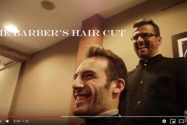 the barbers haircut